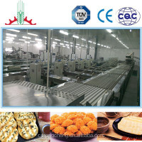 5T Fully-automatic Biscuit Making Machine Cheese Backed Rice Crackers Production Line Xianbei biscuit production line