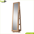 Elegant design rotating jewellery cabinet with different color choice wholesale