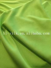 For T-shirt Tube rib polyester rib 1x1 rib knit fabric