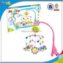 Bedside Install Baby Toy Musical Bell With Sound Plastic Electric Musical Bed Bell