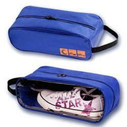 pvc window waterproof travel shoe bag