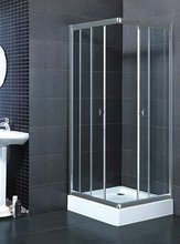 2014 New Product Aluminum smart glass shower