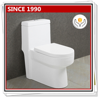 9157 wholesale ceramic one piece s-trap siphonic flush toilet