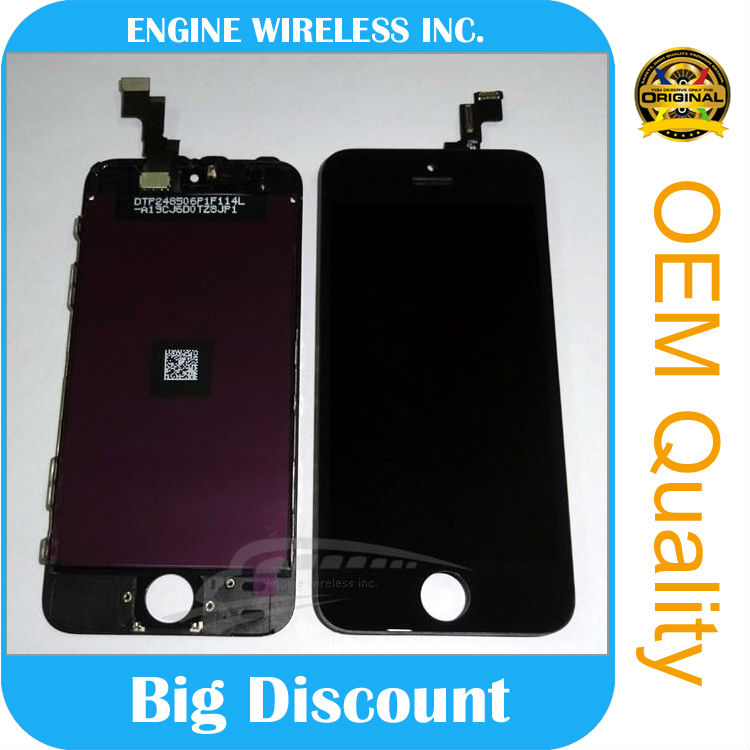 low price china mobile phone screen lcd screen for iphone 5s lcd