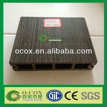 High Quality WPC Hollow Black Plastic Composite Deck Board H028145