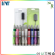 High quality electronic cigarette ego ce4 ce5 atomizer double full vape pen starter kit with zipper bag
