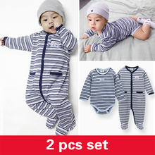 New Arrival Baby Striped Winter Cotton Clothes Wholesale Baby Romper