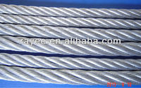 high tensile strength galvanized steel wire rope sling with low price