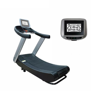 Wholesale Price New Arrival Commercial Curved Manual Treadmill