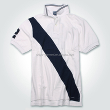 breathable european size sports polo shirt