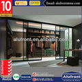 10 years warranty Australian standards modern aluminium glass sliding door for wardrobe