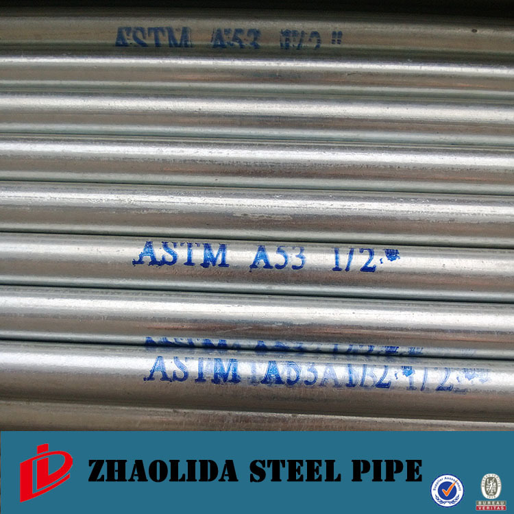 BS1139 galvanized bs31 conduit pipe ISO certified