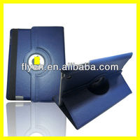 360 Degree Rotating PU Leather Case for iPad 4 3 2 Smart Cover w Magnetic Swivel Stand for Apple iPad Accessories Navy Blue