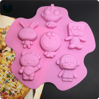 CTBED157 Sponge Bob Square Pants Bunny Viking Altman Silicone Cheesecakes Molds Birthday Cakes And Pies Mould Body