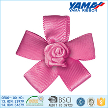 Single-face polyester ribbon flower festival decoration accessories hair accessories