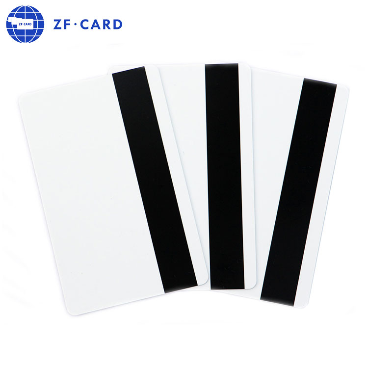 pvc cards with high coercivity magnetic stripe