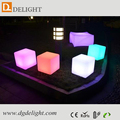 Alibaba China Waterproof Color Changing LED Cube Chair/LED Light Cube for Outdoor Use