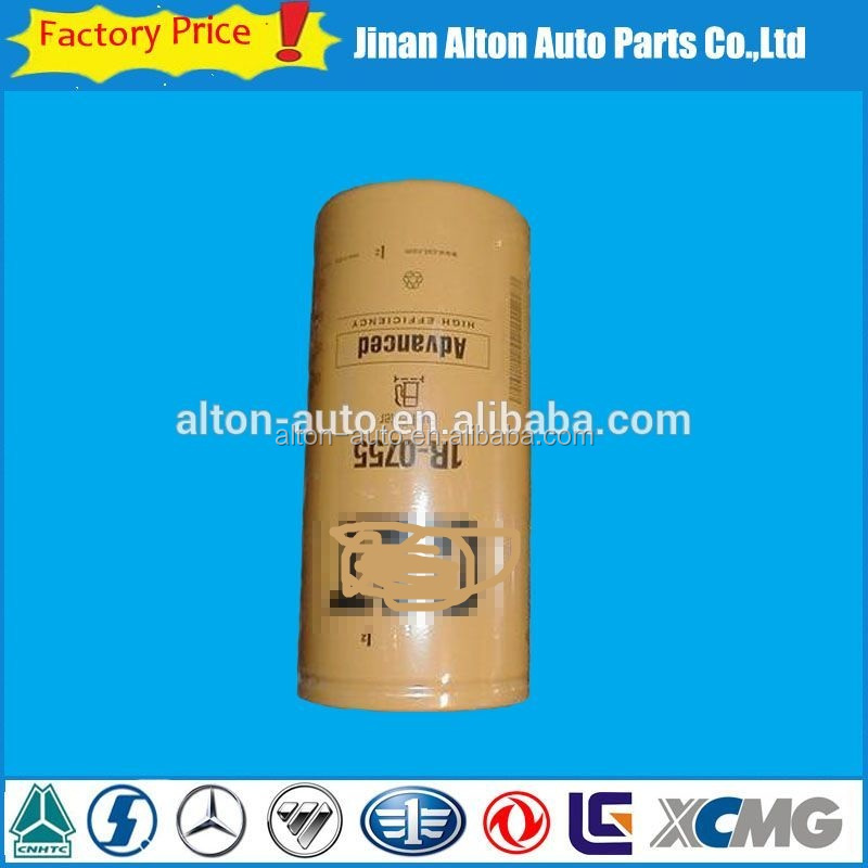 Engine Parts 1R-0755 Oil Filter Excavator Loader Bulldozer Construction Machinery Spare Part For Caterpillar