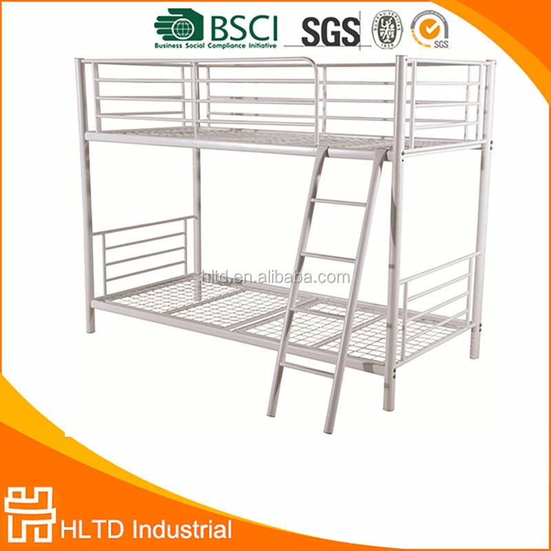 Simple Strong Metal Tube Bunk Bed for Students