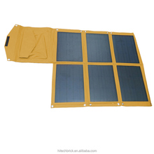 150W Portable Folding Solar Panel / Solar Charger Bag for Laptops / Mobile Phones, 18V / 5V