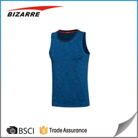 Mens Moisture Wicking Singlets Mesh Sublimated