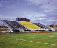 Professional Sundon Metal Structural Bleacher Seats , Outdoor Metal Tribune for International Sporting Events