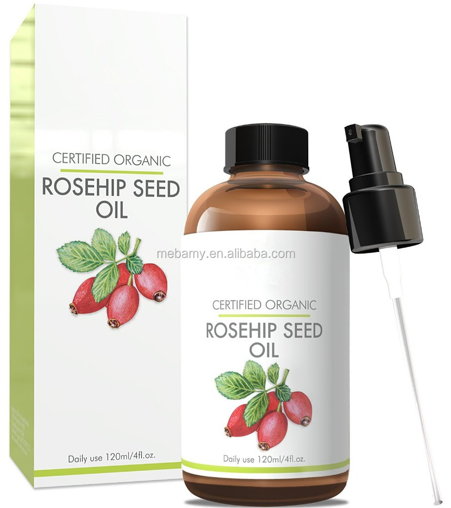 Private Label Cosmetics Pure Organic Rosehip Seed Oil