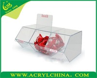 2015 Acrylic Rotating Pick & Mix Dispenser, Display Store Food Container , Clear Acrylic Candy Dispenser Box