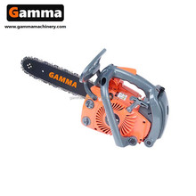mini gardening tool pocket chainsaw 2500 25cc with good india chainsaw performance parts