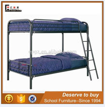 Steel Pipe Durable Detachable College Student Dormitory Iron Double Layer Bunk Bed