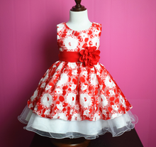High quality children girl dresskids beautiful model dresses long party frock designs