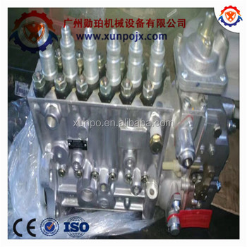 Excavator parts PC360-7 hydraulice fuel pump 6D114 diesel pump,6743-71-1131.