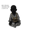 Wholesale custom resin buddha figure with bowl