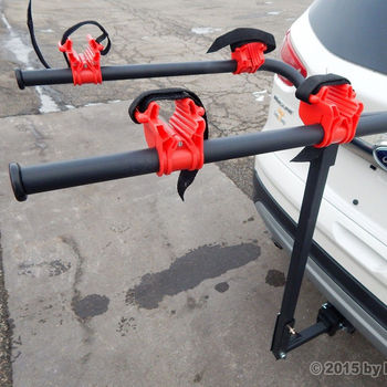 New 2 Bicycle Bike Rack Hitch Mount Carrier Car Truck SUV Swing Away