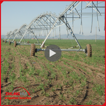 Best Selling Towable / Mobile Center Pivot Irrigation System for Small Farm Irrigation