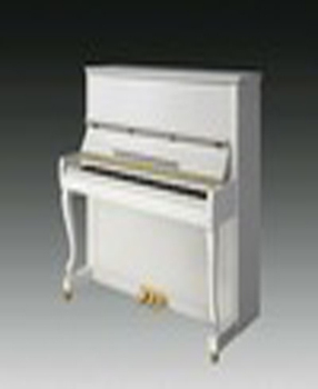 Cheap 123M6 white upright piano with professional musical keyboard
