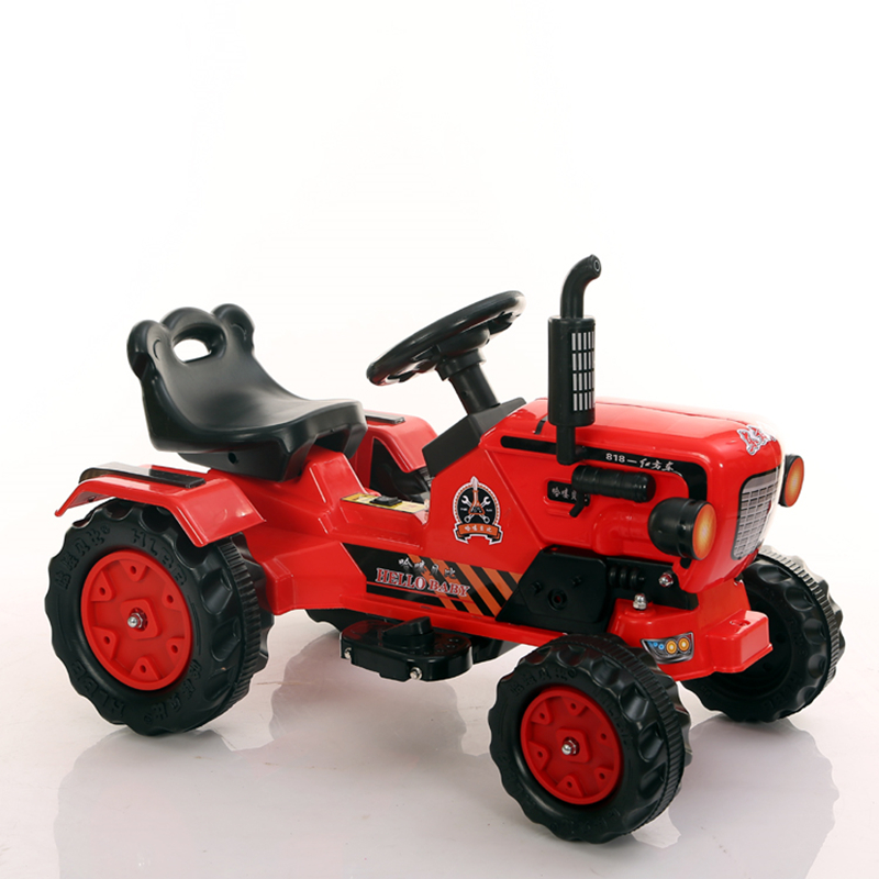 Cute and vivid design pedal tractor toy car for big kids