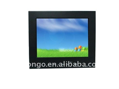 8'' inch Industrial LCD monitor/ LCD display for POS/ Kiosk with Multi- touch screen