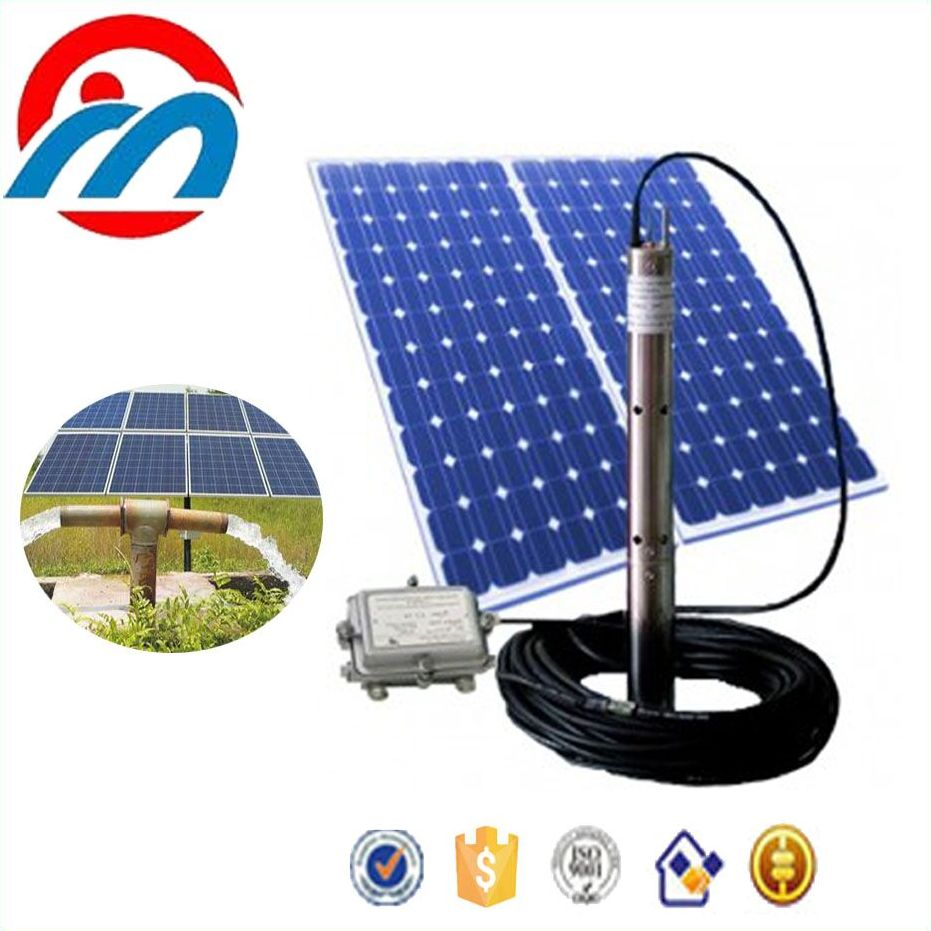 DC submersible solar water deep bore well pump ,4inch clean water pump