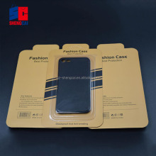 High quality custom made cell phone case packaging /blister packaging box cheap