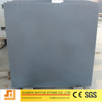 Chinese Native Black Basalt Hainan Granite Tile For Sale