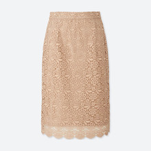 girl's pencil lace short skirt for oem service