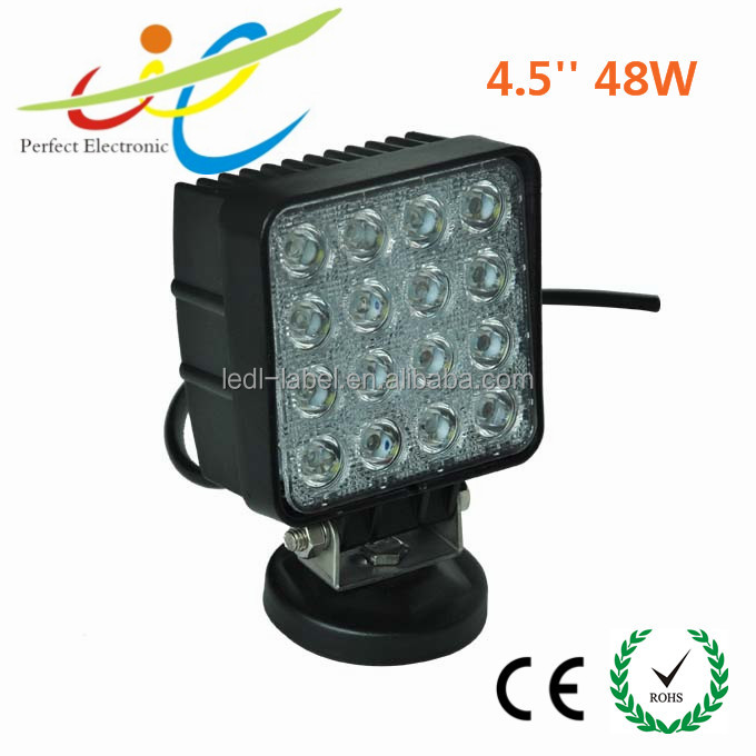 High Quality 48 watt Perfect Working led lights 12v offroad auto 48w led working light for car