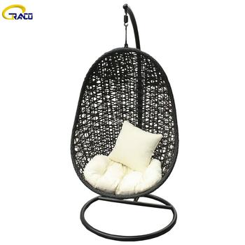 Hot-selling outdoor garden rattan wicker swing chair