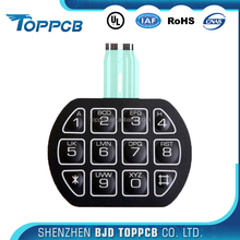 Garment JET printer metal dome membrane keypad