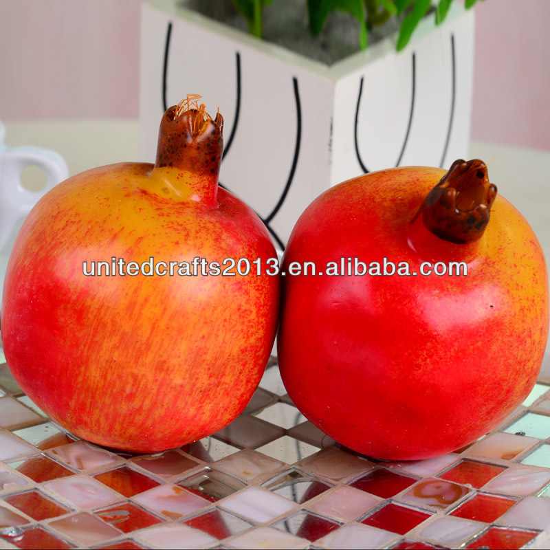 best-selling fake pomegranate artificial decoration plastic fruit