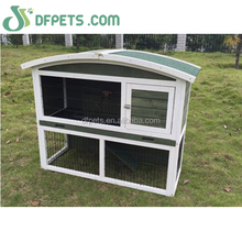 Hot selling wooden outdoor beautiful rabbit house puppy cage