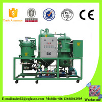 High quality lube Oil recycling machine, no need use paper filter