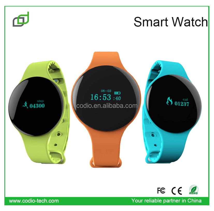 Fashion Wrist watch 2014 OLED Screen android bluetooth smart band