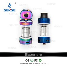 quit smoking device,Mechanical e-cigarette blazer pro huge vapor 4ml capacity, 2600mah battery,e-cig vaping wholesale